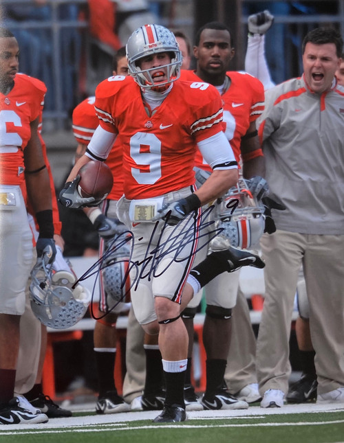 Brian Hartline Ohio State Buckeyes 16-2 16x20 Autographed Photo - Certified Authentic