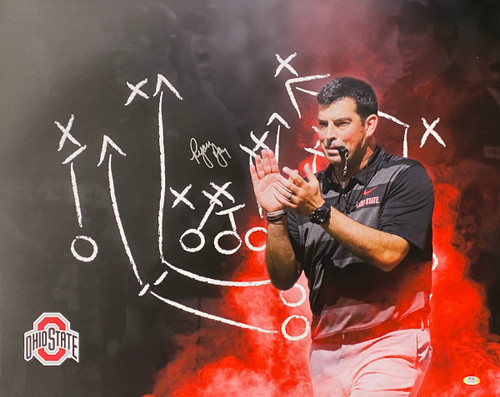 Ryan Day Ohio State Buckeyes 24-1 24x30 Autographed Photo - PSA Authentic
