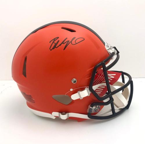 Baker Mayfield Cleveland Browns Autographed Authentic Helmet - JSA Authentic