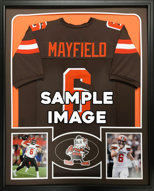 Baker Mayfield Autographed & Framed Jersey Cleveland Browns