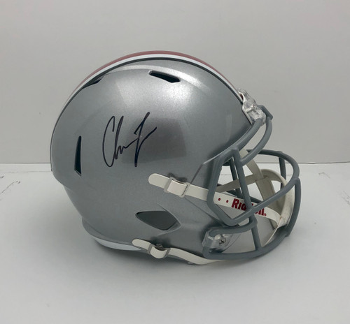 Chase Young Ohio State Buckeyes Autographed Speed Replica Helmet - Fanatics Authentic