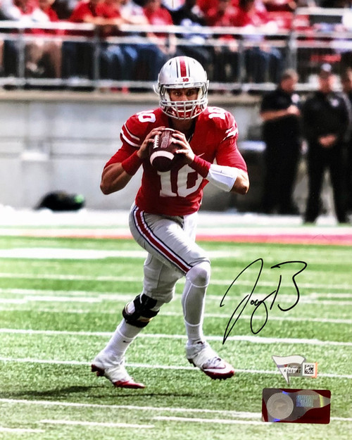 Joe Burrow Ohio State Buckeyes 8-1 8x10 Autographed Photo - Certified Authentic
