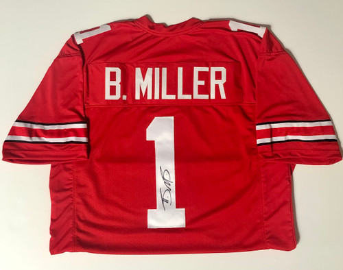 Braxton Miller Ohio State Buckeyes Autographed Jersey - Certified Authentic