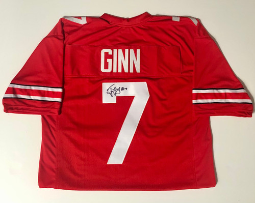 Ted Ginn Ohio State Buckeyes Autographed Jersey - Certified Authentic