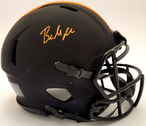 Baker Mayfield Cleveland Browns Autographed Eclipse Authentic Helmet - Beckett