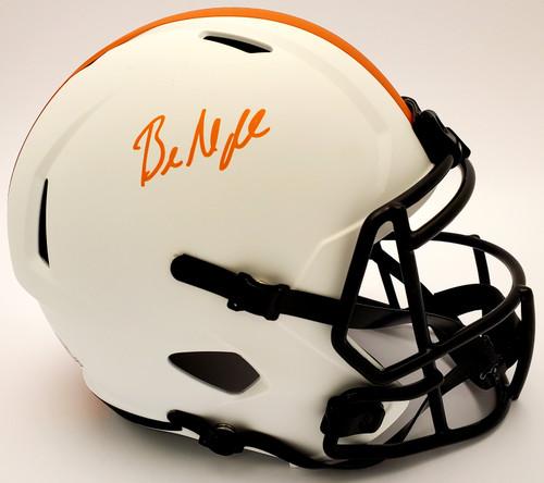 Baker Mayfield Cleveland Browns Autographed Lunar Replica Helmet - Beckett