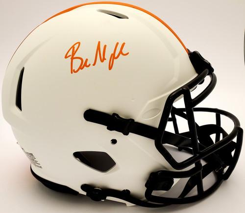 Baker Mayfield Cleveland Browns Autographed Lunar Authentic Helmet - Beckett