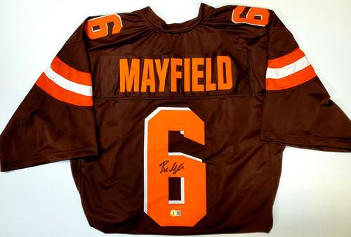 Baker Mayfield Cleveland Browns Autographed Jersey - Beckett