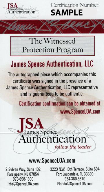 Julian Fleming Ohio State Buckeyes Autographed Football - JSA Authentic