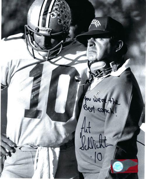 Art Schlichter Ohio State Buckeyes 8-2 8x10 Autographed Photo - Certified Authentic