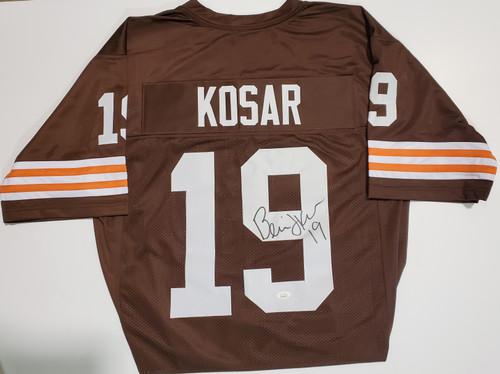 Bernie Kosar Cleveland Browns Autographed Brown Jersey - JSA Authentic