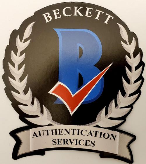 Denzel Ward Cleveland Browns Autographed Flash Mini Helmet - Beckett Authentic