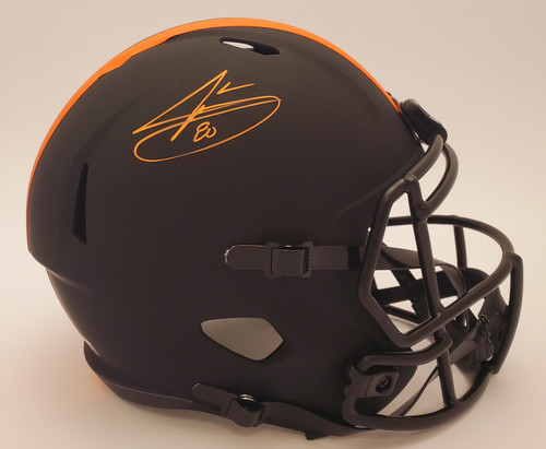 Jarvis Landry Cleveland Browns Autographed Eclipse Replica Helmet - Beckett Authentic