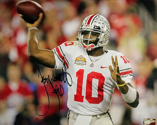 a921788f780 Troy Smith OSU 16-10 16x20 Autographed Photo - Certified Authentic