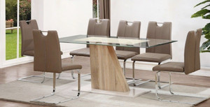 Monza Dining Set x6 Chairs