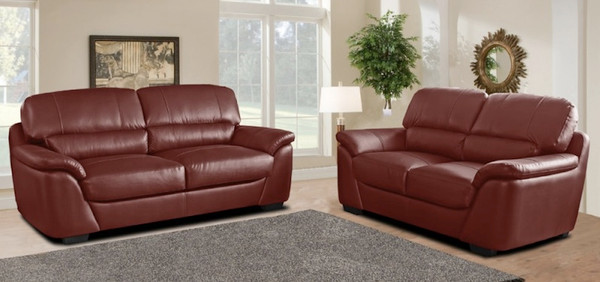 Beautifully crafted leather sofas