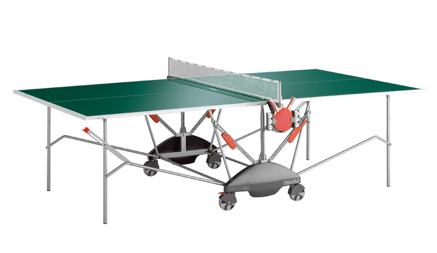 Miraculous Kettler Match 5 Outdoor Ping Pong Table Green Home Interior And Landscaping Elinuenasavecom