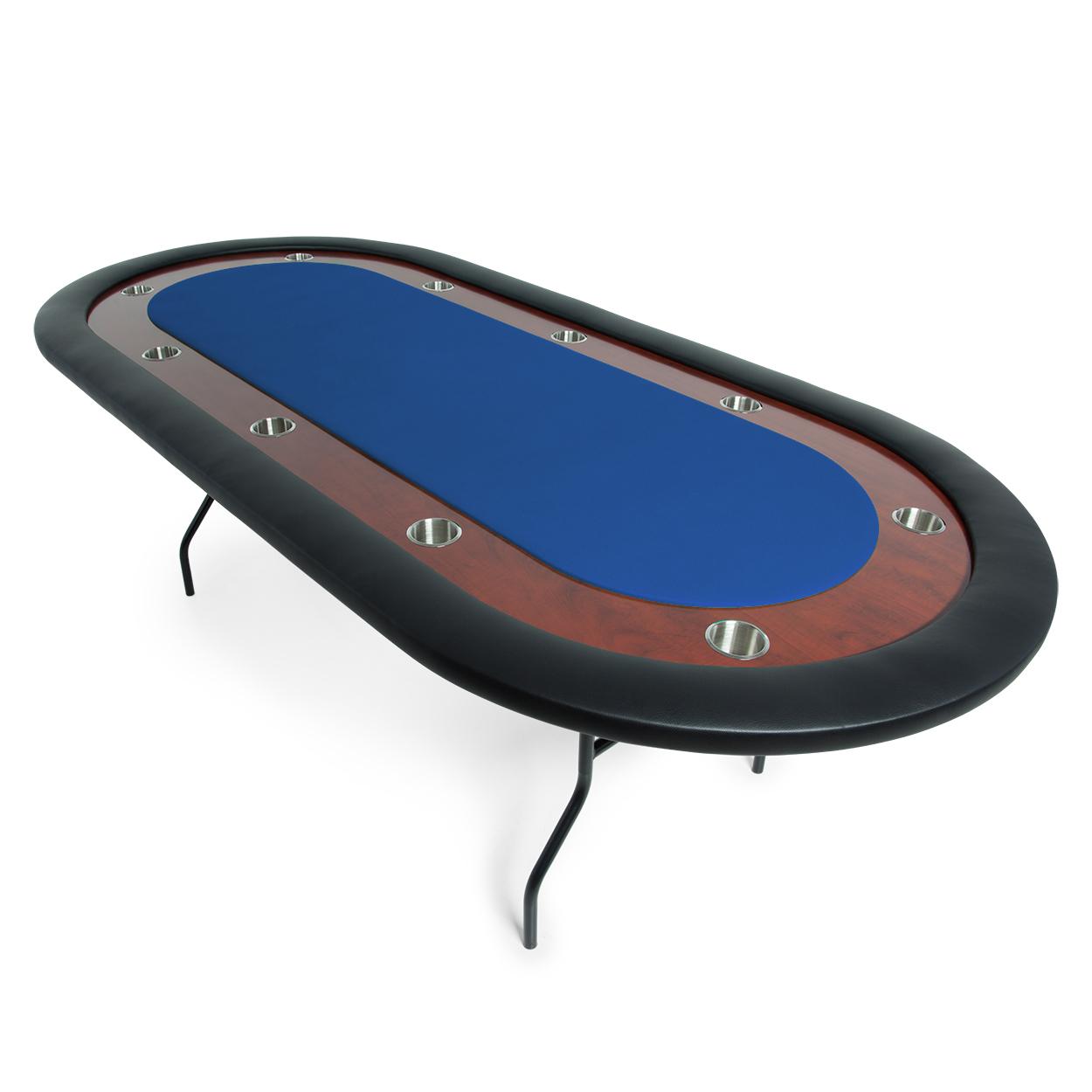 """BBO Poker Ultimate Poker Table - 9"""" Folding Leg Poker Table"""