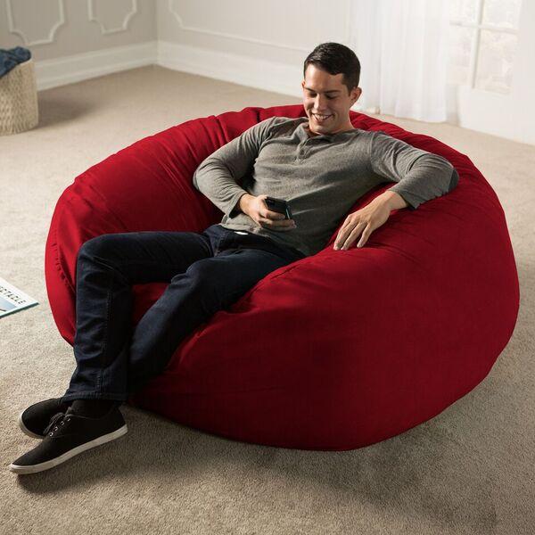 Admirable Jaxx 5 Giant Bean Bag Chair Machost Co Dining Chair Design Ideas Machostcouk