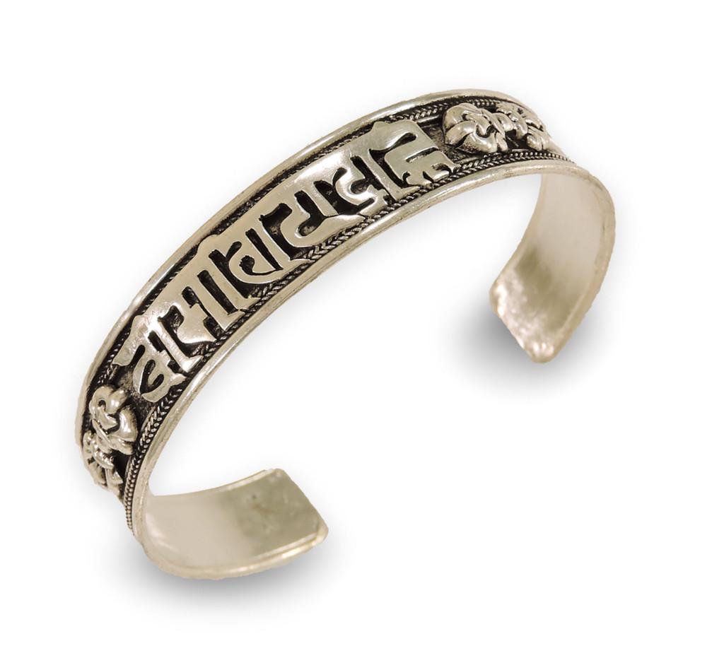 Handmade Tibetan silver Medicine Bracelet From Nepal many choice (Compassion)