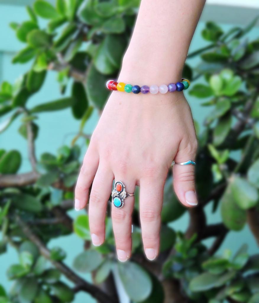 Tibetan Mala Chakra Healing Wrist Mala Bracelet Yoga Bracelet