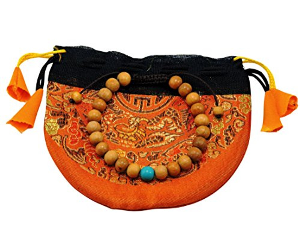 Sandalwood Wrist Malas many choice (Turquoise)