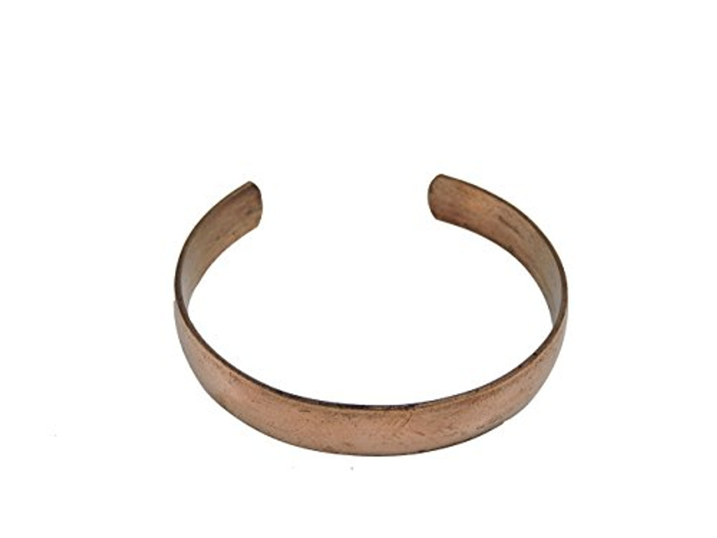 Tibetan Hand Crafted Copper Medicine Bracelet From Nepal (Style 2)