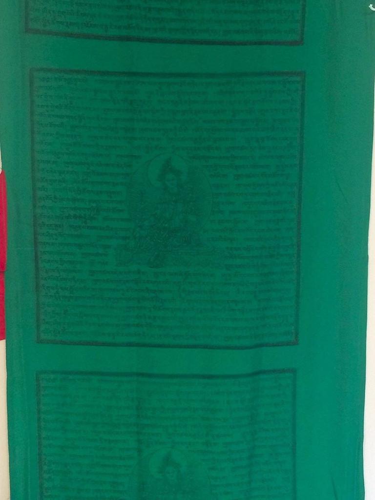 Tibetan Prayer Flags Vertical Prayer Flags From Nepal - Green