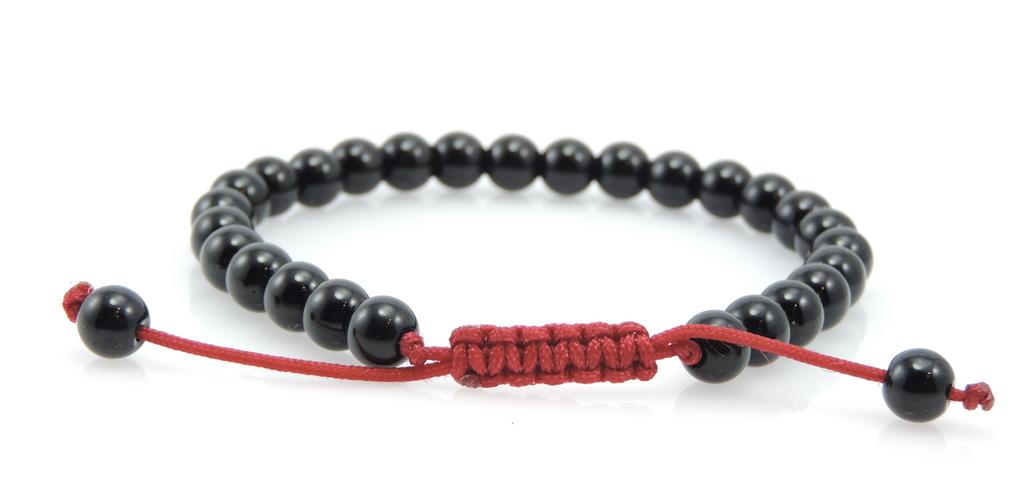 Small Black Onyx Wrist Mala/ Bracelet