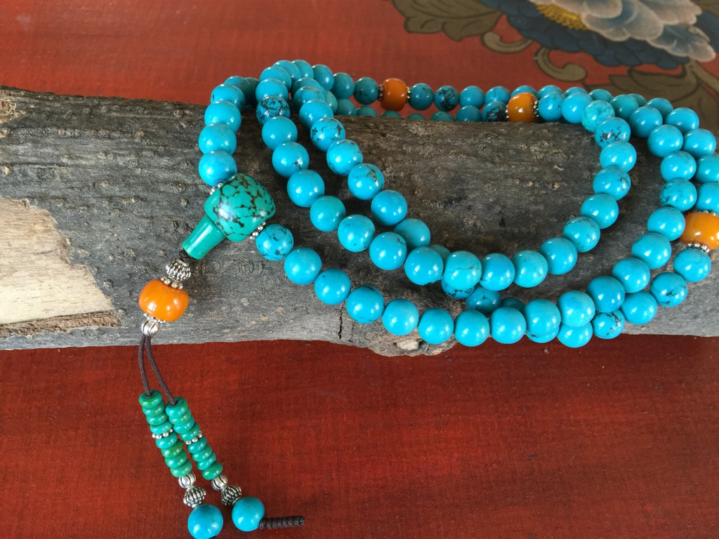 Turquoise Protection Mala