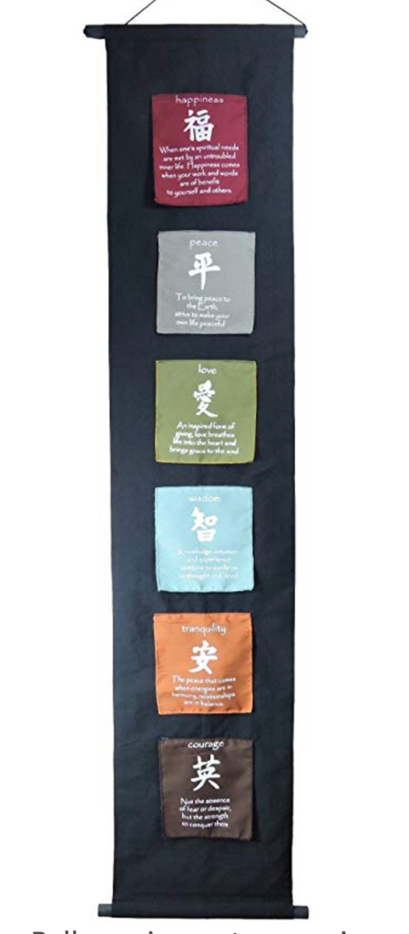 Set your Intention Wall Banner