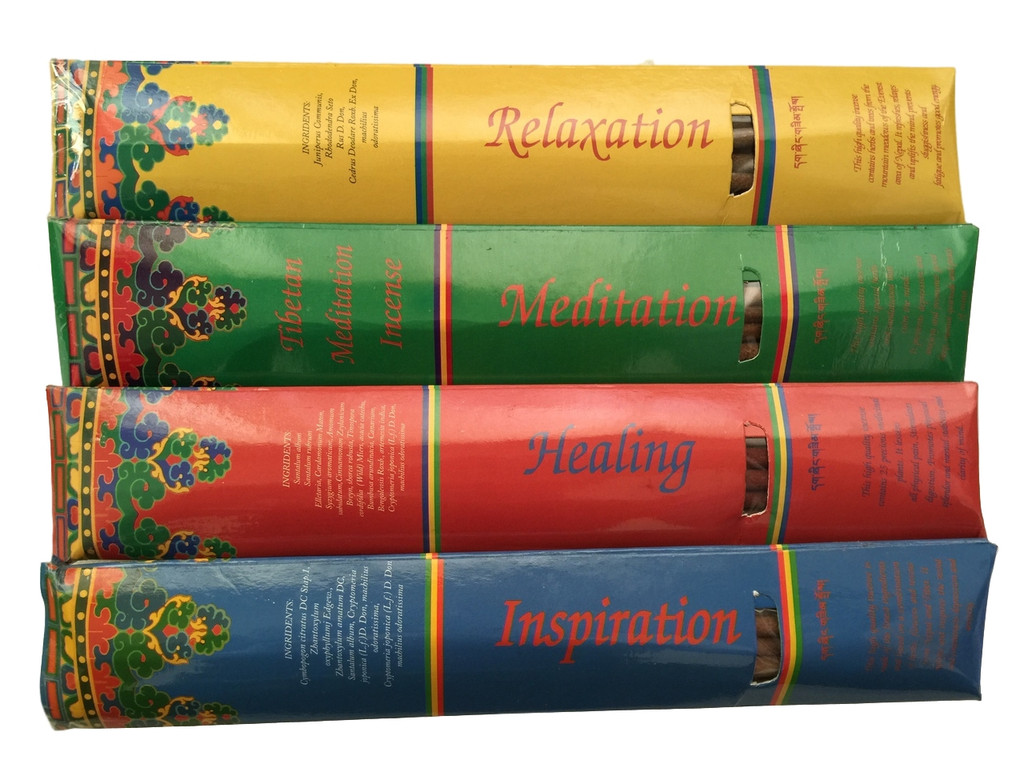 Kopan Nunnery Tibetan Incense Combination Pack