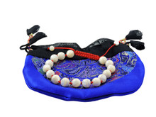 Healing Power Of The Sea Mother Of Pearl Wrist Mala Individually Knotted