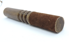 Handmade Tibetan Hardwood Leather wrapped Singing bowl striker Mallet ( Brown )