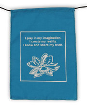 Handmade Affirmation, Love, Courageous, Imagination, Intuition, Prayer Flags