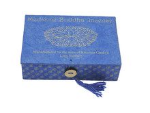 Hands Of Tibet Medicine Buddha Incense in an eco-Friendly Lokta Paper Gift Box Handmade by Nuns