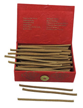 Wisdom Bliss Incense in an eco-friendly Lokta paper gift box handmade by nuns