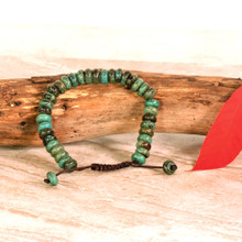 Beautiful Turquoise Wrist Mala/Bracelet for Meditation