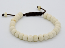 Tibetan Mala Yak Bone Wrist Mala Bracelet for Meditation