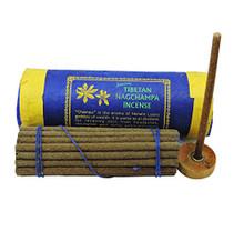 Tibetan Nagchampa Incense with Burner