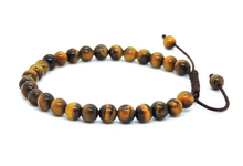 Small Tiger Eye Wrist Mala/ Bracelet for Meditation
