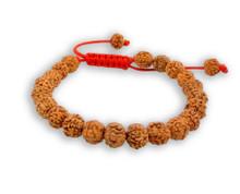 Tibet Mala Rudraksha Seed Wrist Mala Bracelet Meditation healing beads (Plain)