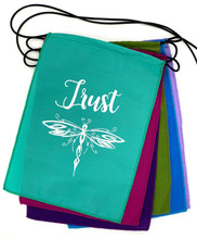 Handmade Affirmation Trust Integrity Brave Warrior Success Prayer Flag 9X12