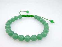 Green Jade Wrist Mala bracelet