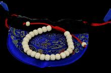 Yak Bone Tibetan Wrist Mala Bracelet for Meditation (Plain)