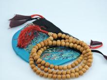 Wood Bead mala 108 beads with Tassel