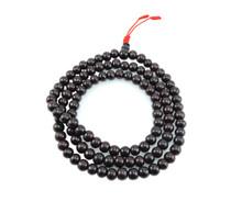 Tibetan mala Rosewood Mala 108 beads with Knot tassel