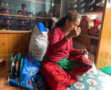 Tibetan Buddhist Ritual Item Damaru Drum for meditation