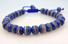 Tibetan Healing Wrist Mala Yoga Bracelet - Blue