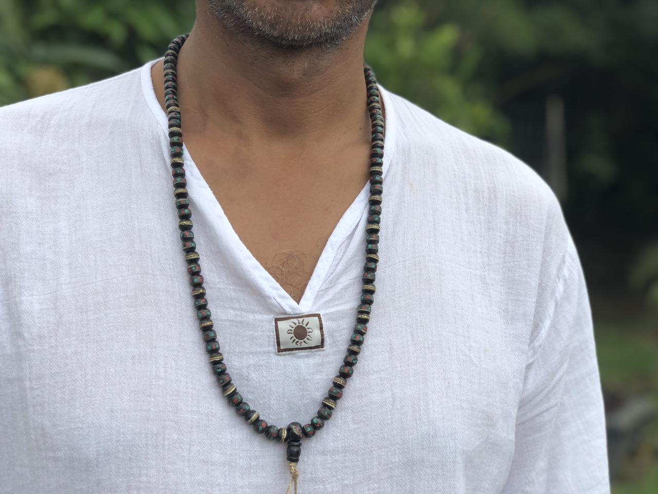 Jewelry Red Yak Bone Yak Bone Necklace
